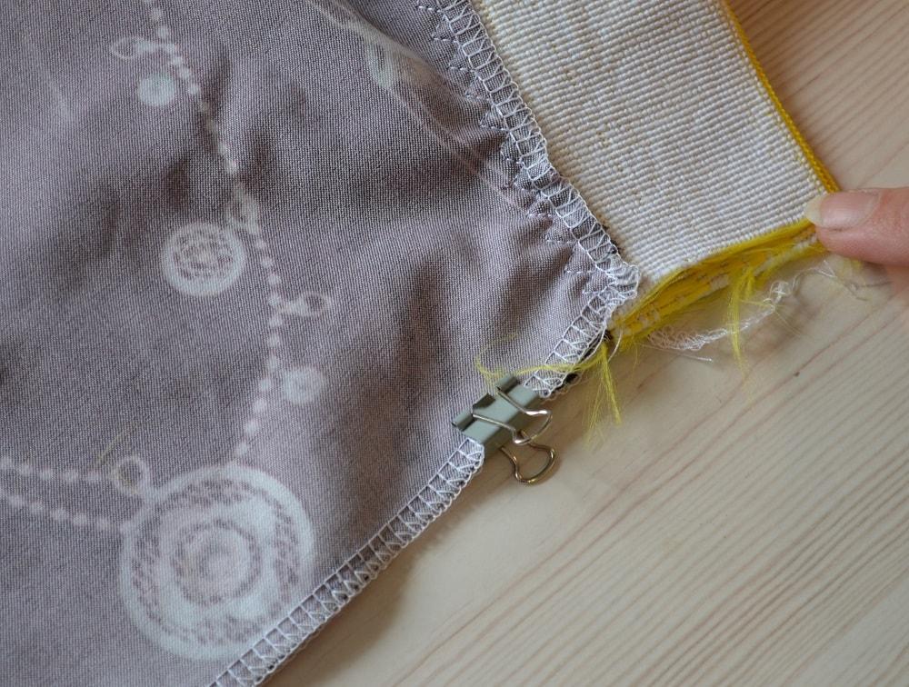 Как сшить юбку-солнце на резинке для девочки, шаг 17