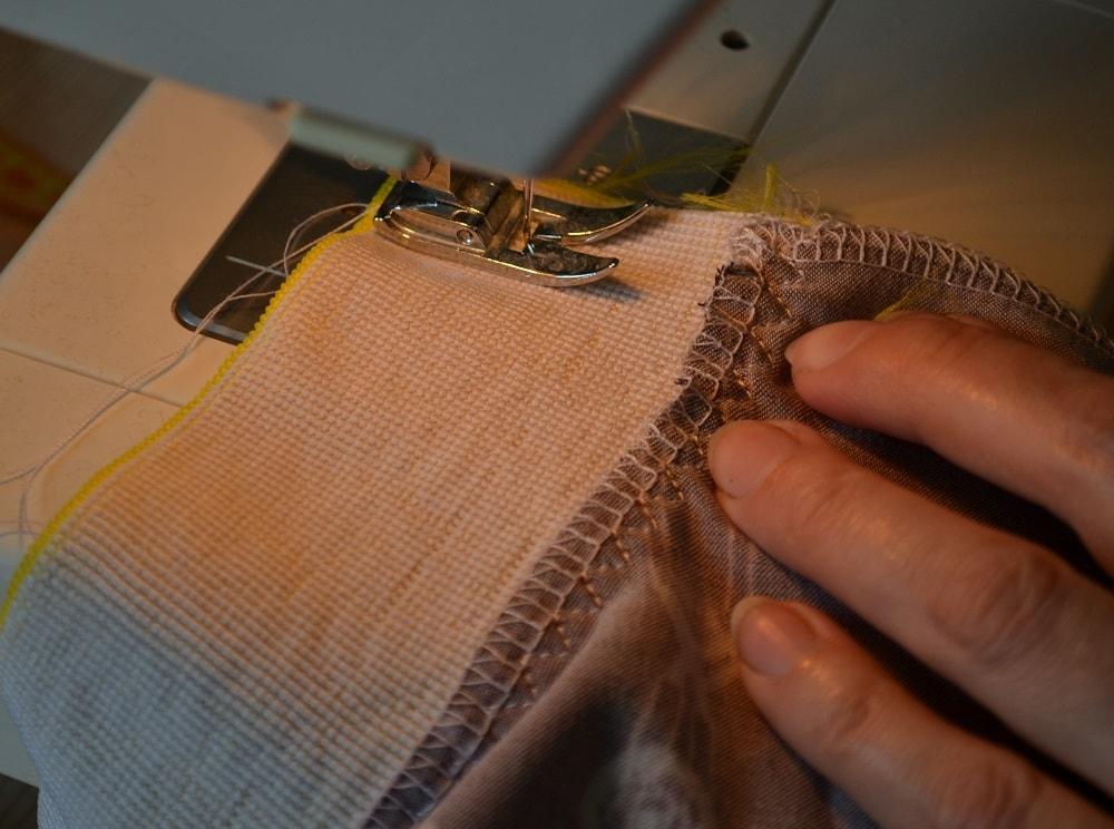 Как сшить юбку-солнце на резинке для девочки, шаг 18