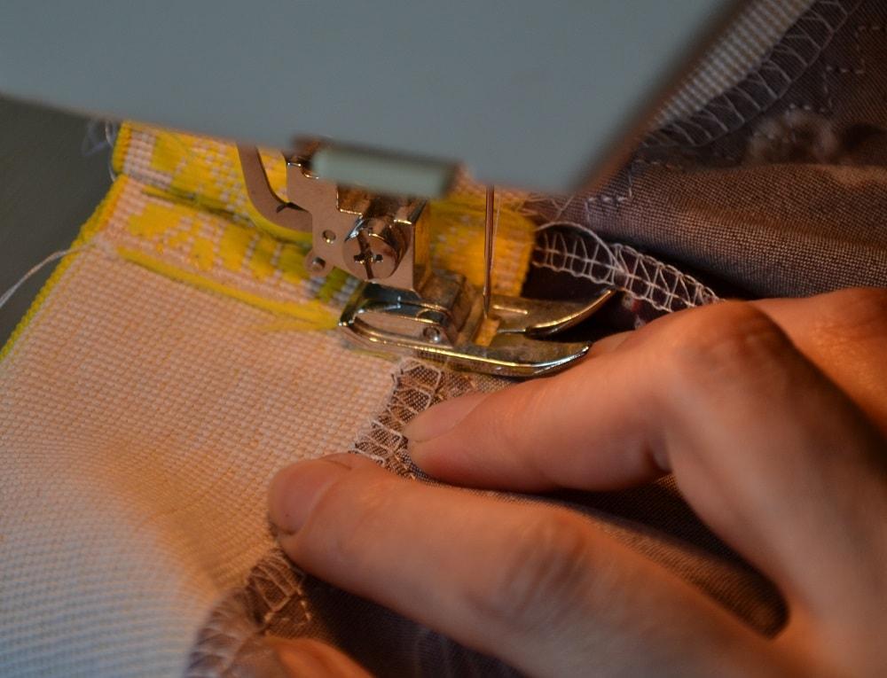 Как сшить юбку-солнце на резинке для девочки, шаг 20