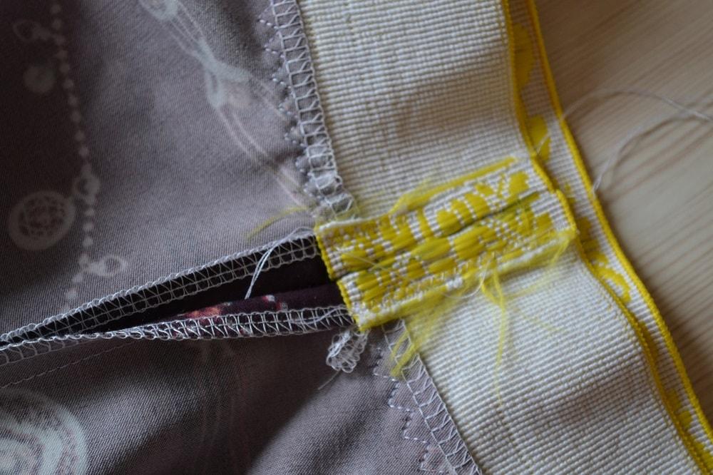 Как сшить юбку-солнце на резинке для девочки, шаг 21