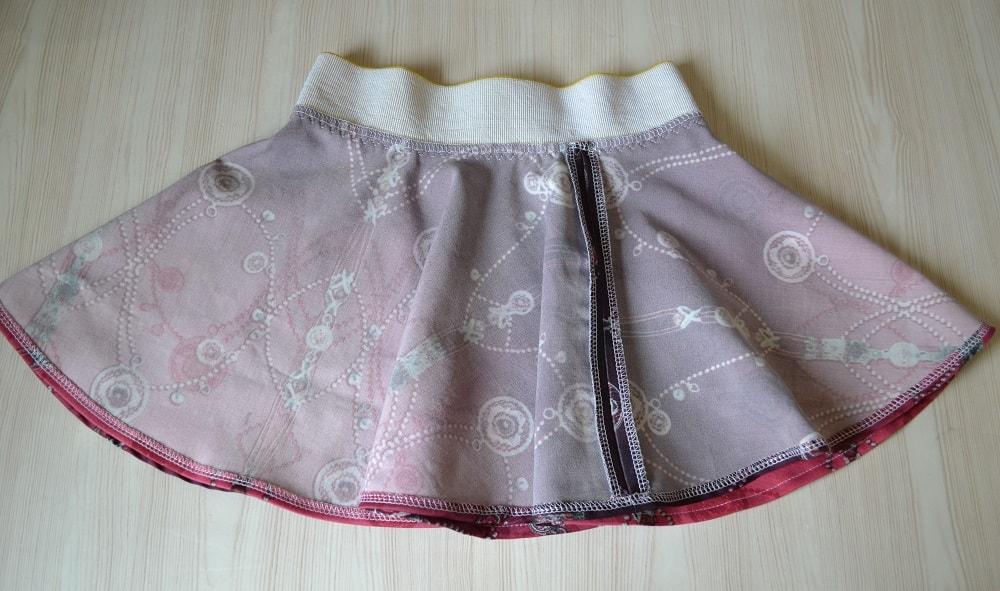 Как сшить юбку-солнце на резинке для девочки, шаг 25
