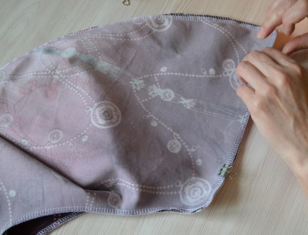 Как сшить юбку-солнце на резинке для девочки, шаг 6