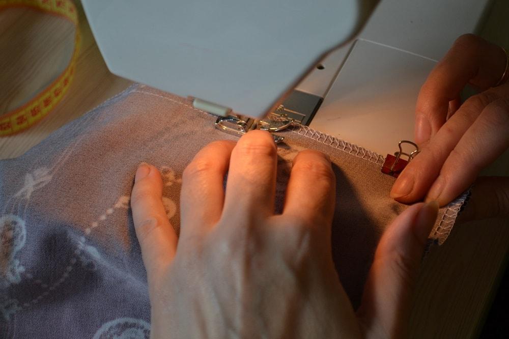 Как сшить юбку-солнце на резинке для девочки, шаг 7