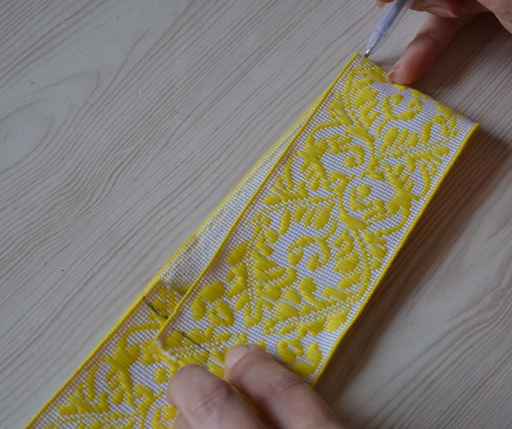 Как сшить юбку-солнце на резинке для девочки, шаг 8