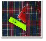 Обработка внутреннего бокового кармана платья