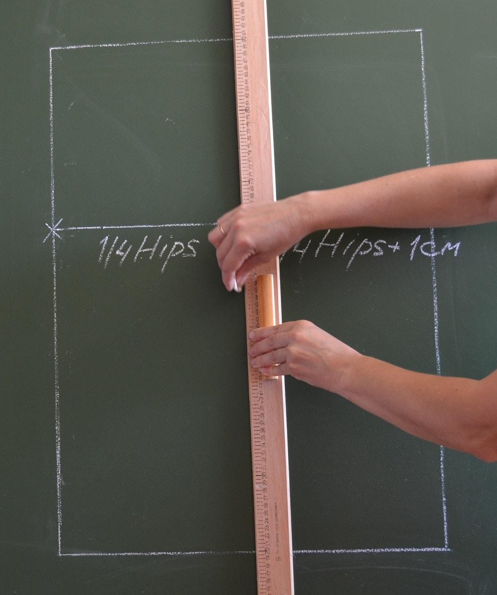Пошаговая инструкция выкройка прямой юбки фото 833