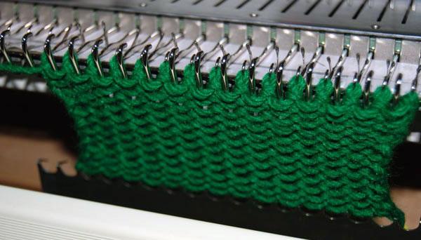 Вязание на машинке для начинающих