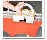 Вязание на машине без неполадок