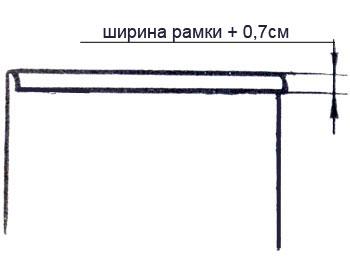Обработка кармана с клапаном