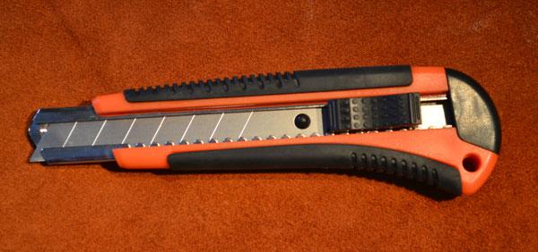 Строительный нож для кожи