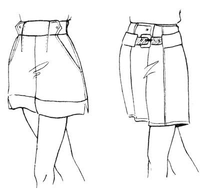 Короткие брюки-шорты на резинке