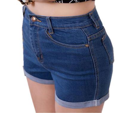Женские шорты из старых джинсов